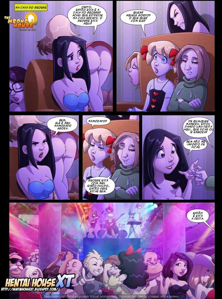 A Casa Errada 8 – Sexo em Quadrinhos