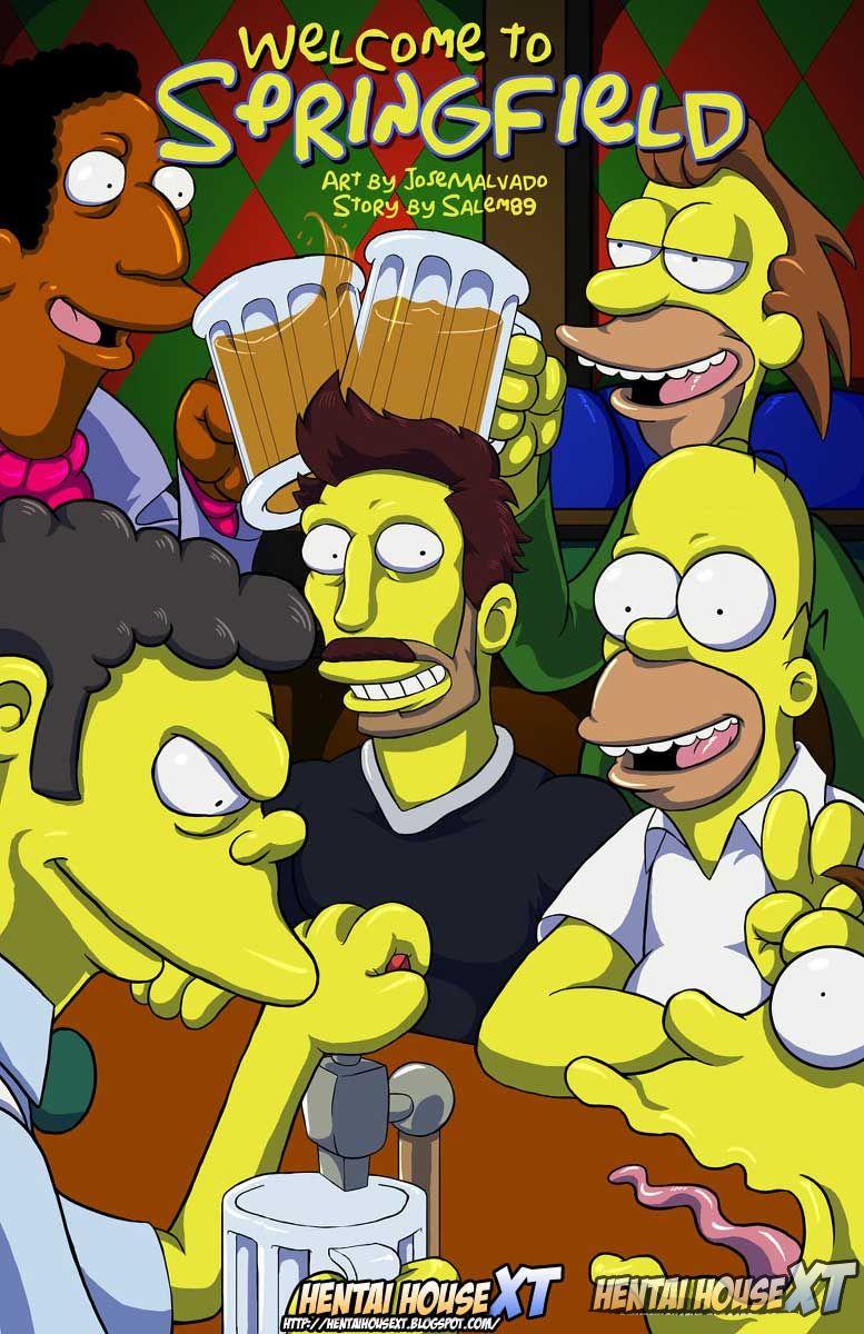 Os Simpsons – Bem vindo a Springfield (Atualizado) – Quadrinhos Eróticos