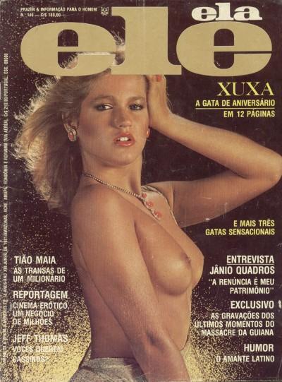 fotos da xuxa nua, pelada na revista ele ela de 1981