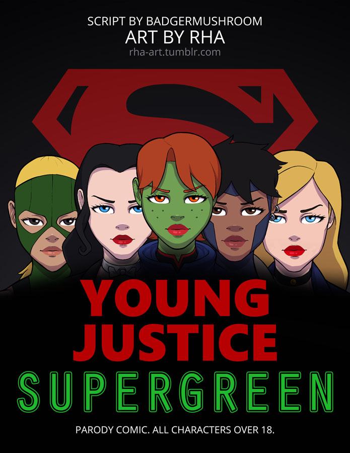 Young Justice Supergreen – HQ Comics