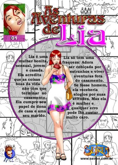 As aventuras de Lia 1 – Quadrinhos Eróticos