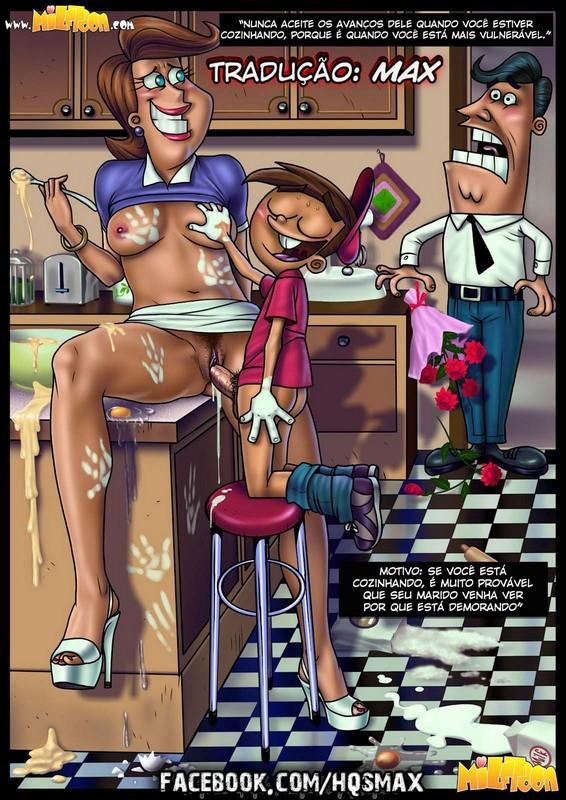 Milftoon Moments – Quadrinhos Eróticos