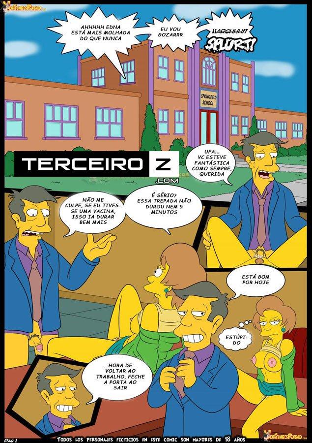 Simpsonovi toon porno komiks