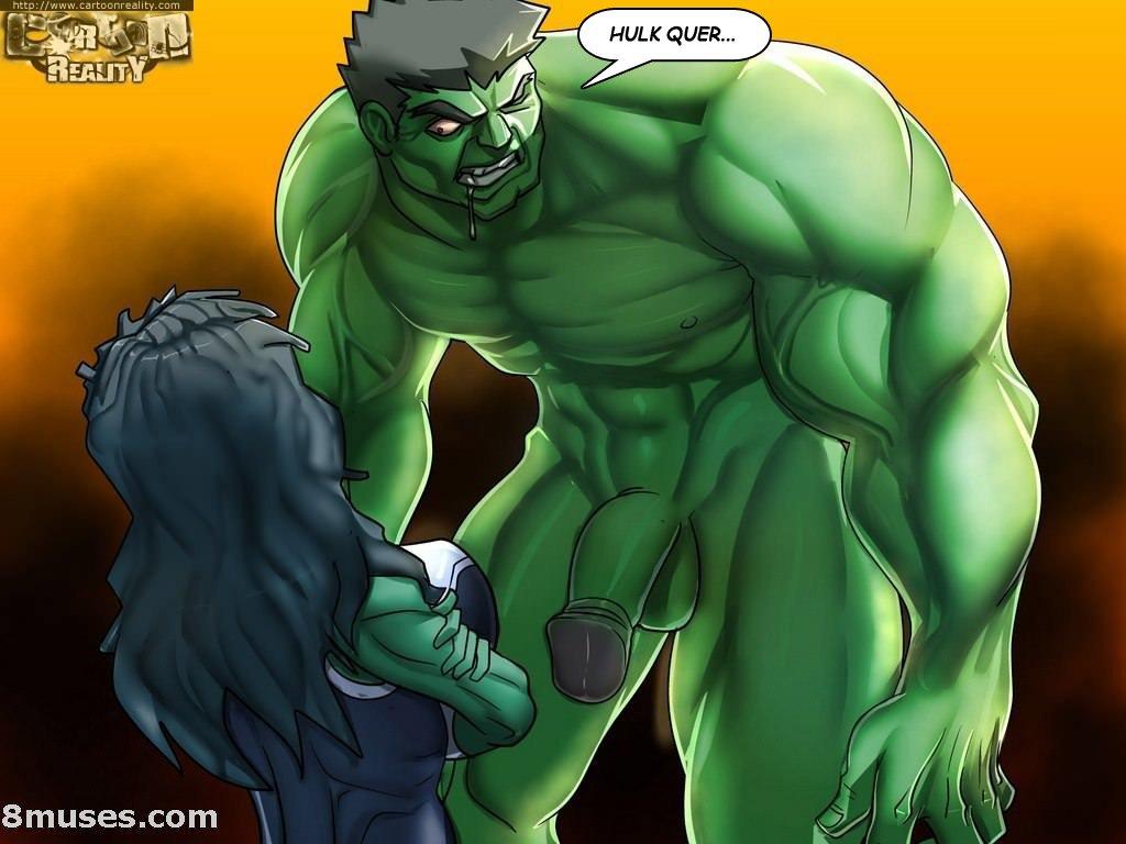 Hulk e Mulher Hulk – Quadrinhos Eróticos