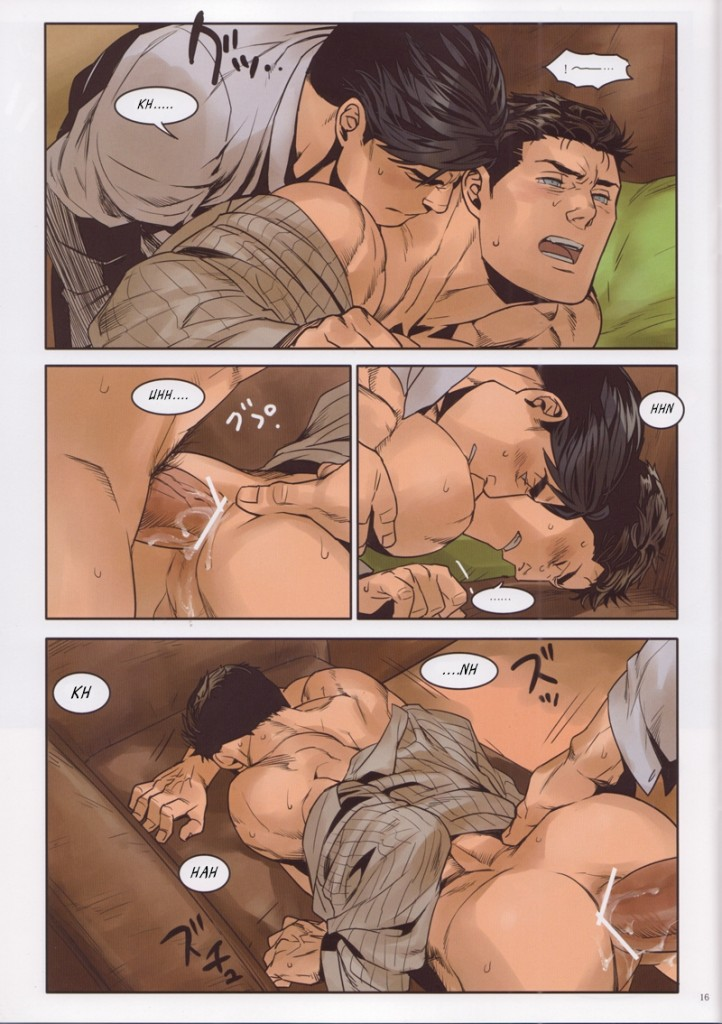 Batman vs superman - quadrinhos e hqs porno gay(15)