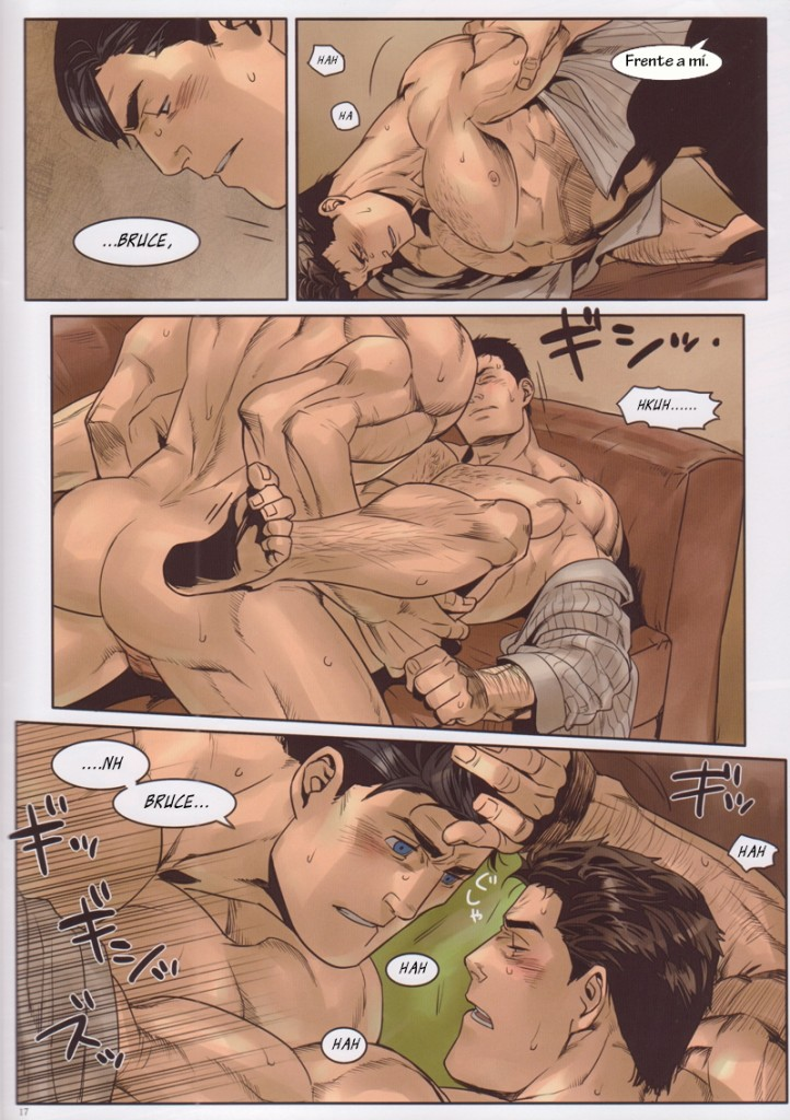 Batman vs superman - quadrinhos e hqs porno gay(16)