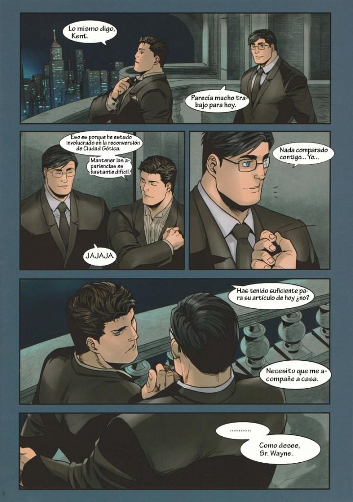 Batman vs superman - quadrinhos e hqs porno gay(4)