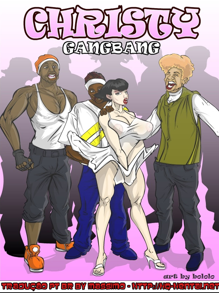 gang bang cartoons