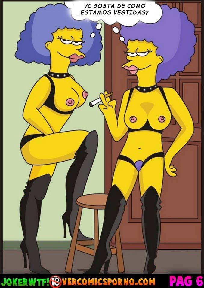 As Tias Ninfomaníacas de Bart Simpsons