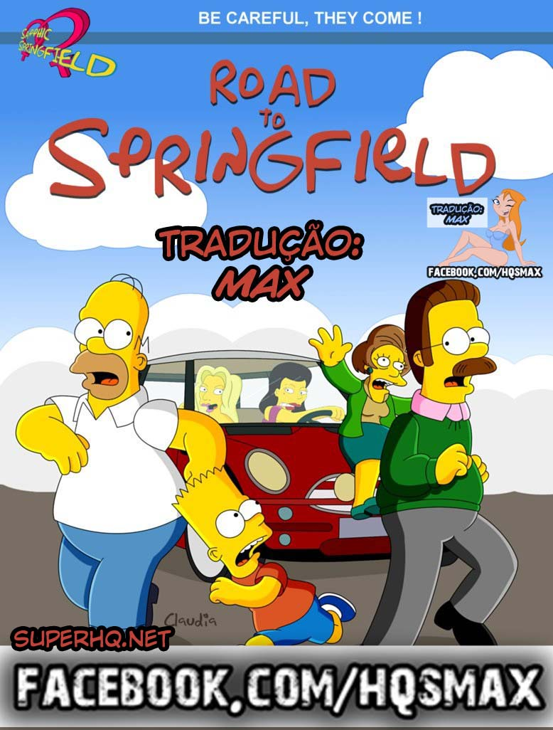 The Simpsons – Road To Springfield (+ paginas)