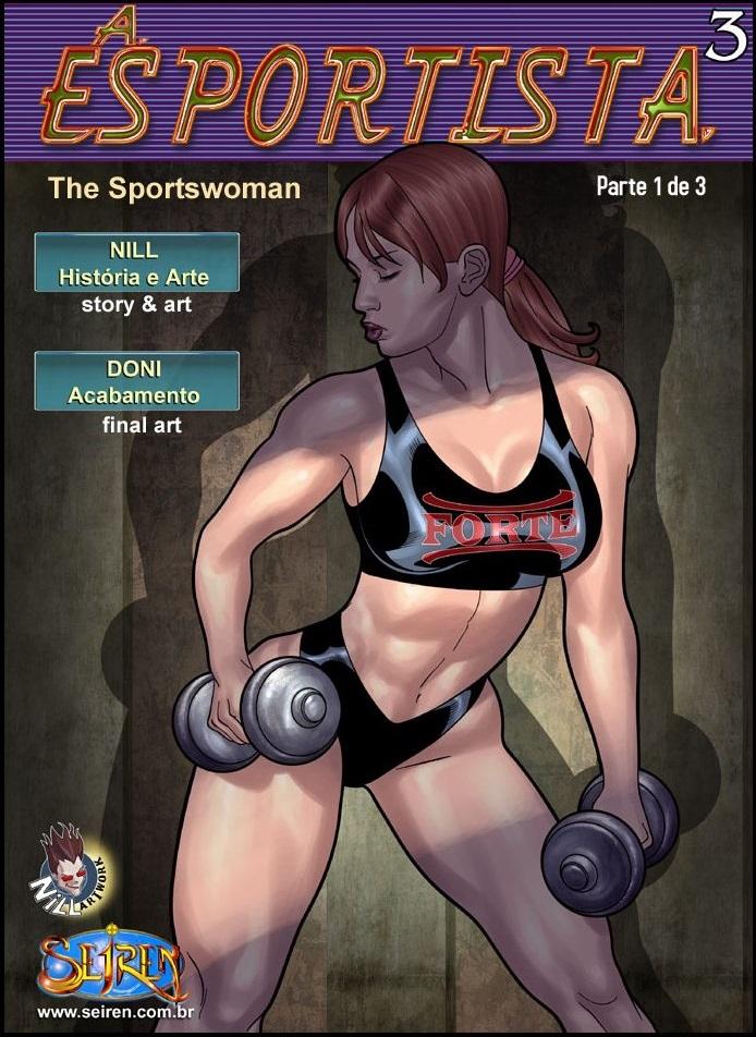 A Esportista 3 – Parte 1 – Quadrinhos Eróticos