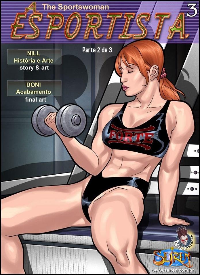 A Esportista 3 – Parte 2 – Quadrinhos Eróticos