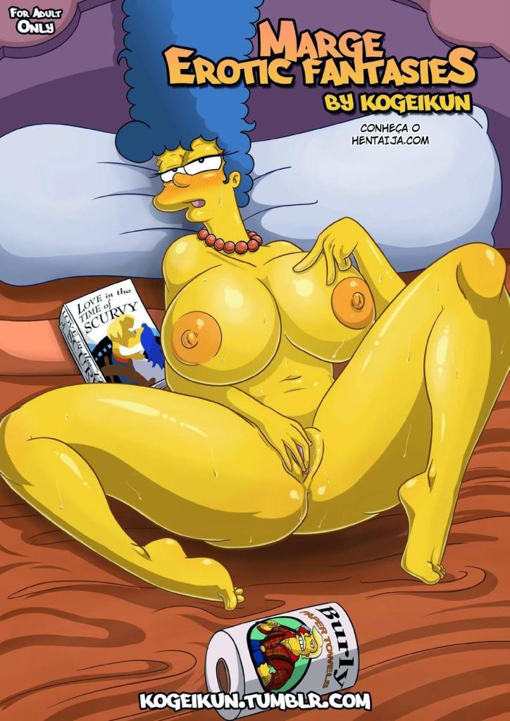 As Fantasias Eróticas de Marge Simpsons