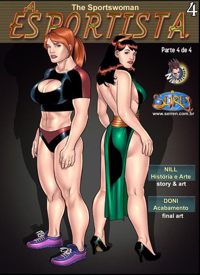A Esportista 4 – Part.4 – Quadrinhos Eróticos