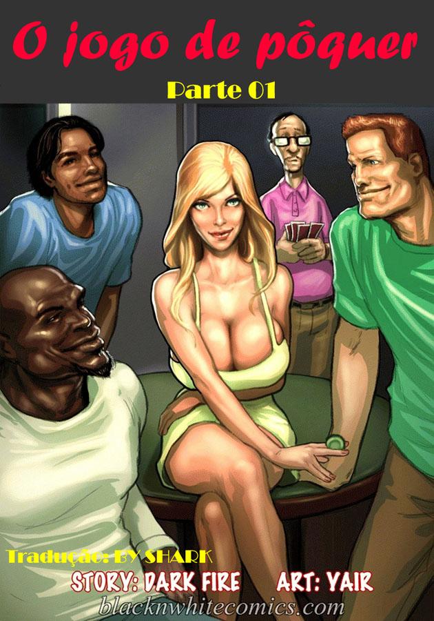 The Poker Game 1- Quadrinhos Eróticos