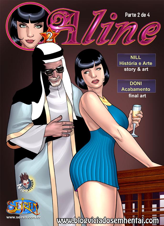 Aline 2- parte 2- Quadrinhos Eróticos
