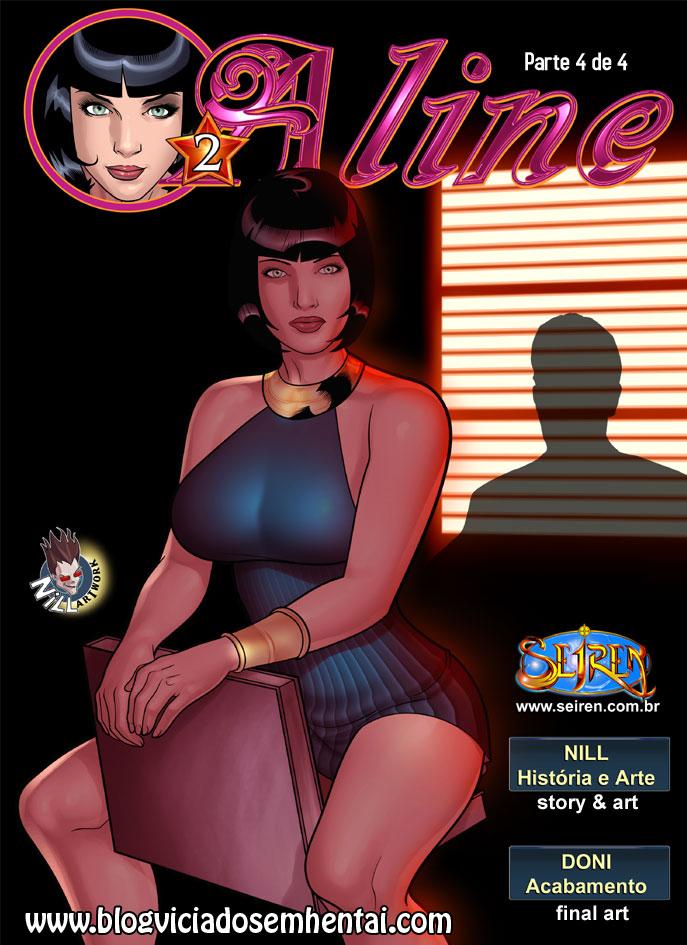 Aline 2- parte 4- Quadrinhos Eróticos