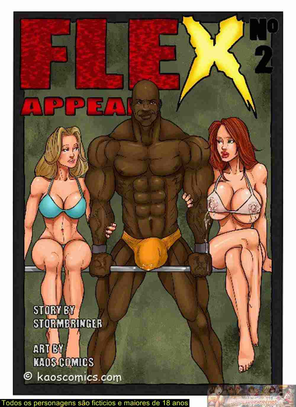 Flex Appeal 2- Kaos Interracial