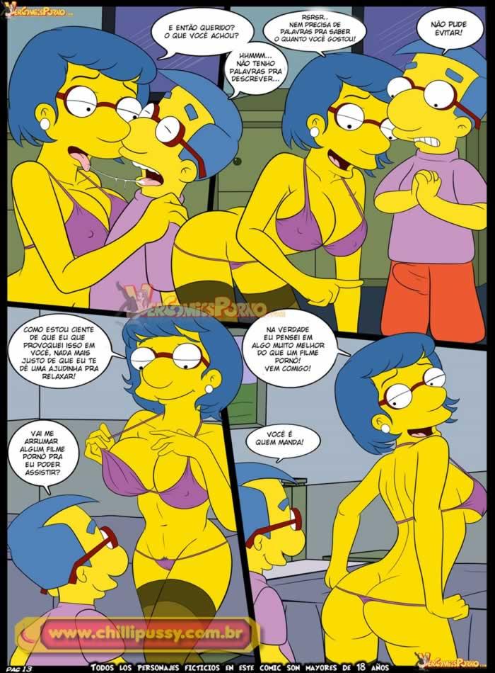 Videos eroticos dos simpsons