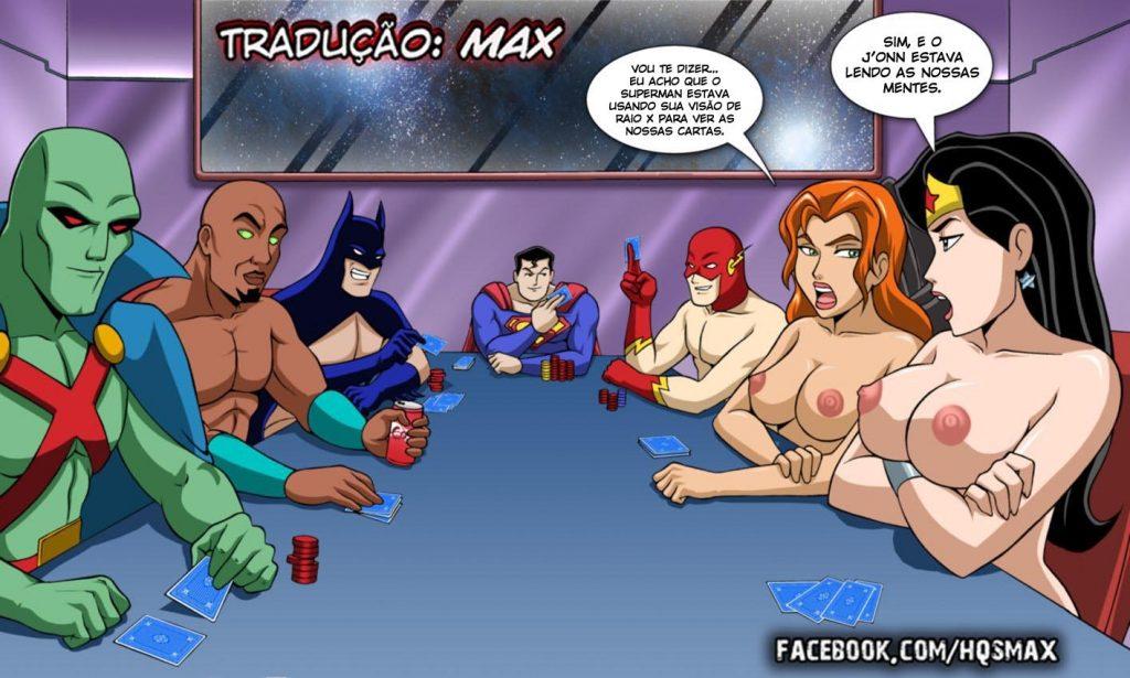 супергерои секс комикс