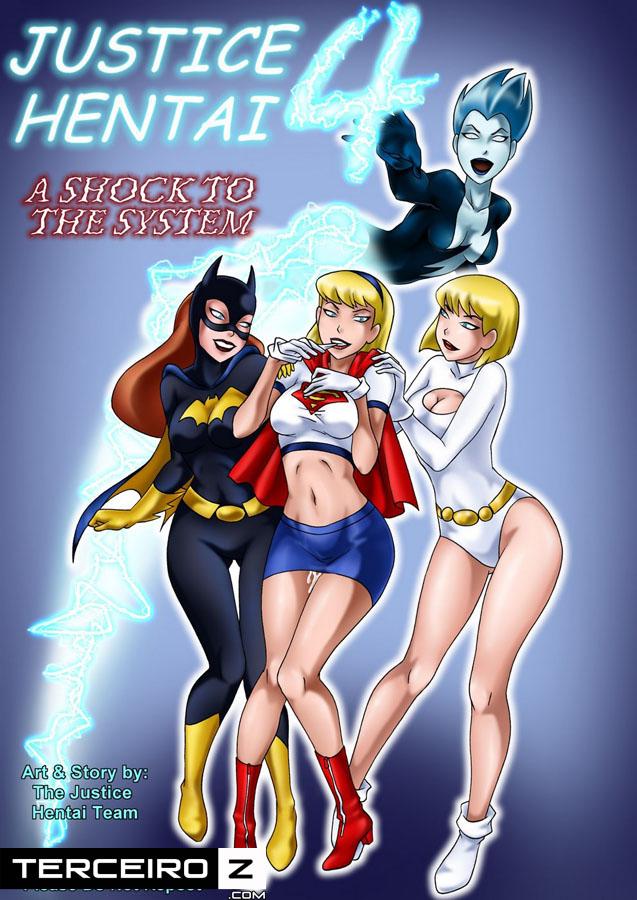 Liga da Justice Hentai 4 – Quadrinhos Eróticos