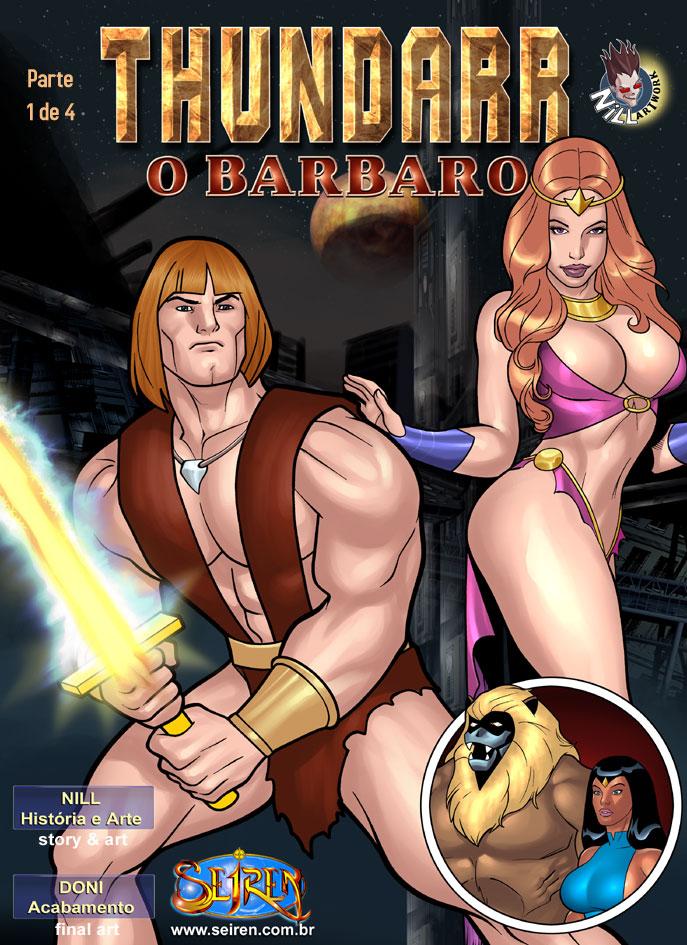 Thundarr o Barbaro – Quadrinhos Eróticos