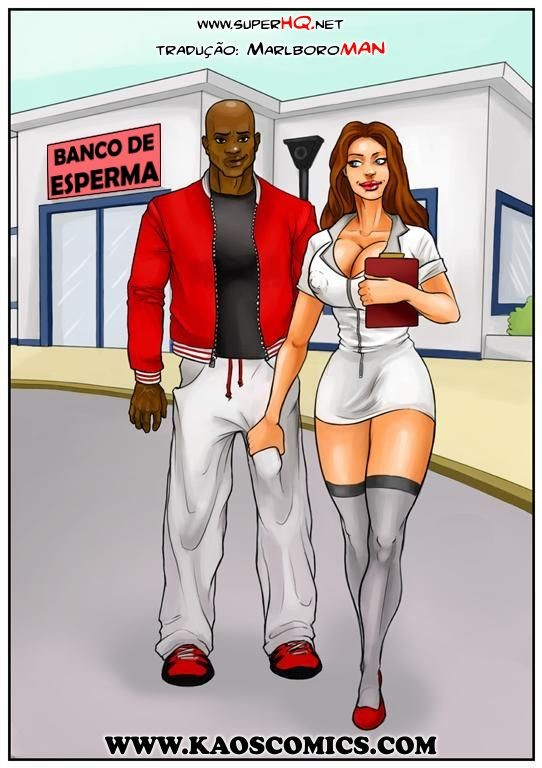 Banco de Esperma – Interracial Comics