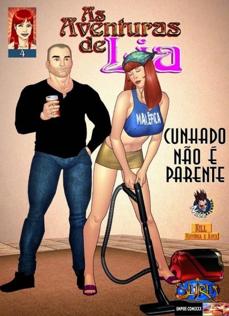 As Aventuras Eróticas de Lia 4 – Quadrinhos Pornô