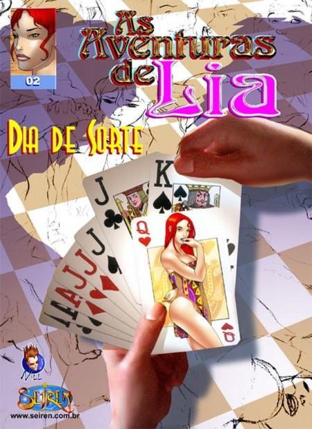 As aventuras Eróticas de Lia 2 – Quadrinhos Pornô