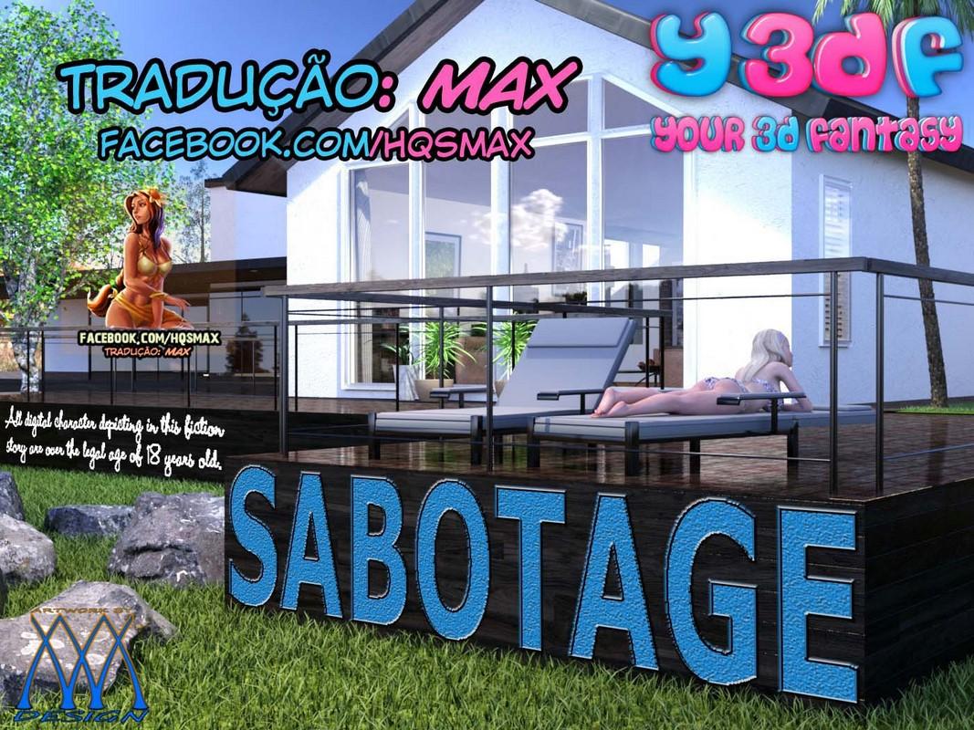 SABOTAGE 1 – COMIX Y3DF
