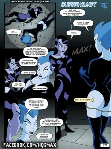 Inque and Livewire (Batman) – HQ Comics