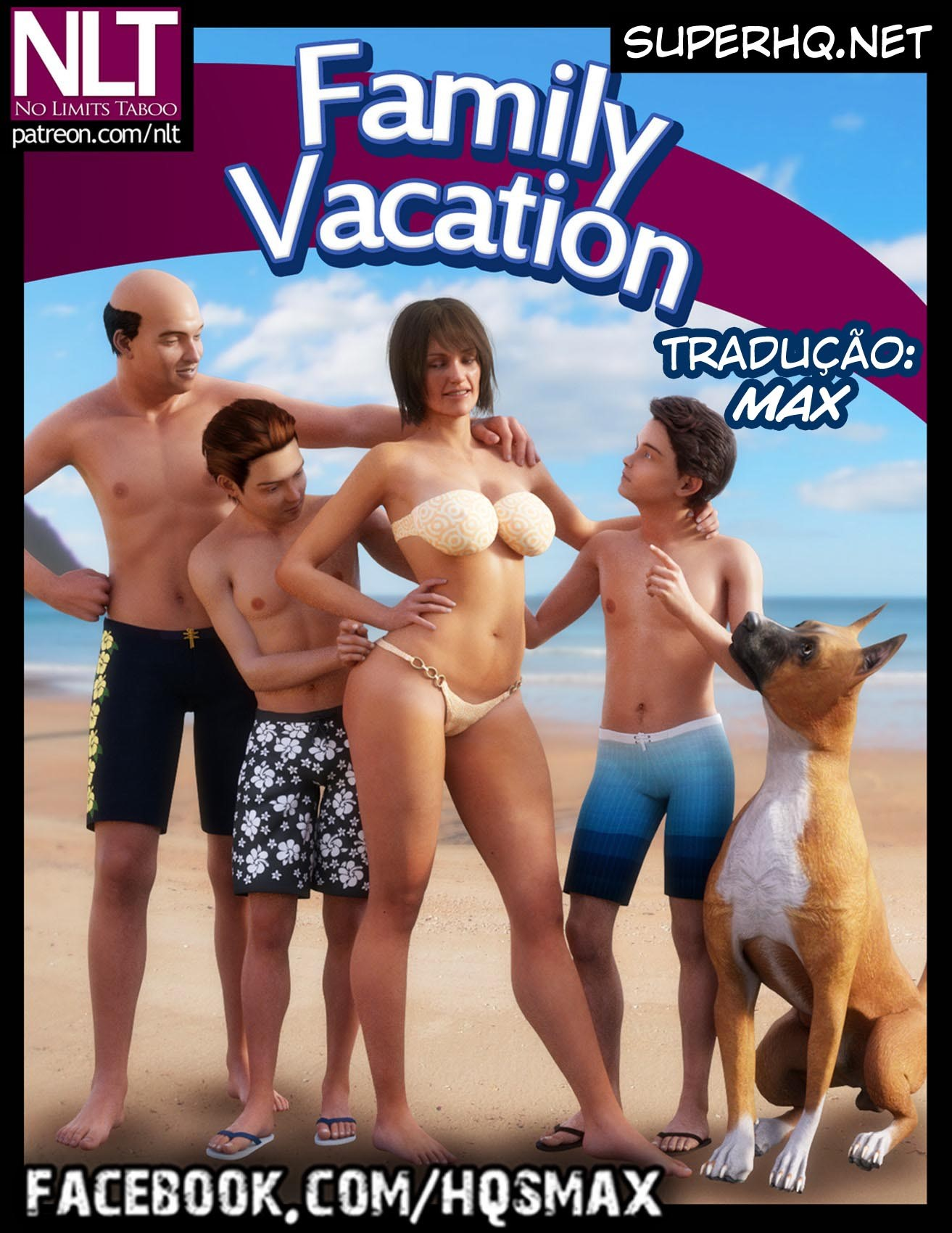 Family Vacation Completo – 3D NLT