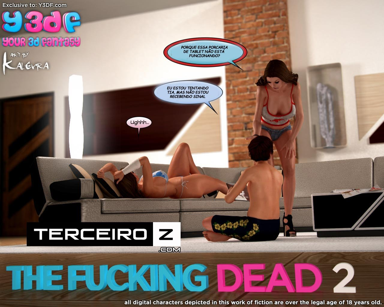 The Fucking Dead 2 – Comix Y3DF