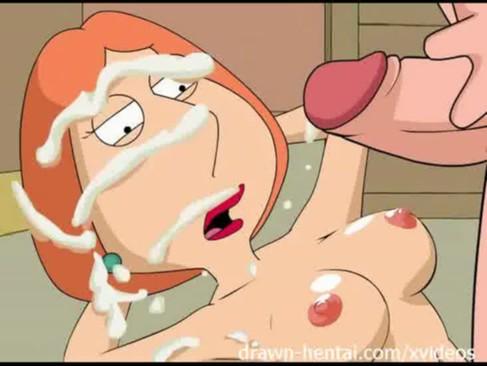 Family Guy Meg e Lois pagando boquete gostoso