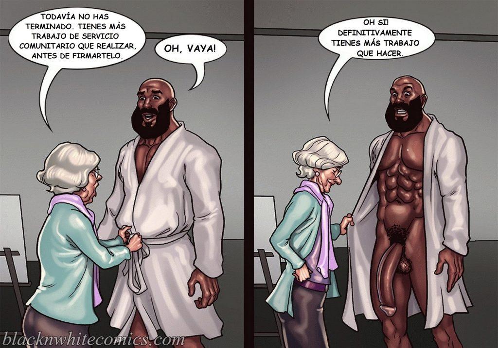 негры комикс
