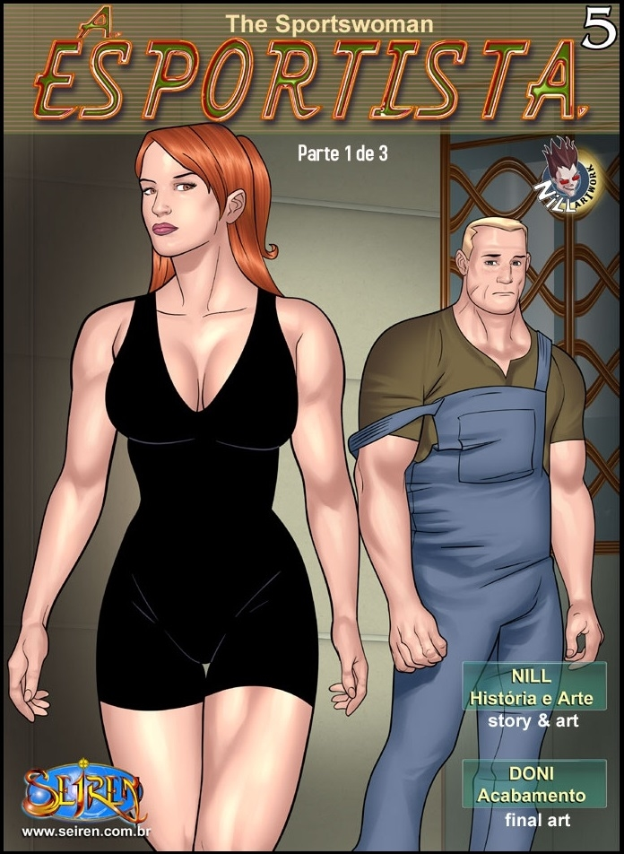 A Esportista 5 – Parte 1 – Quadrinhos Eroticos