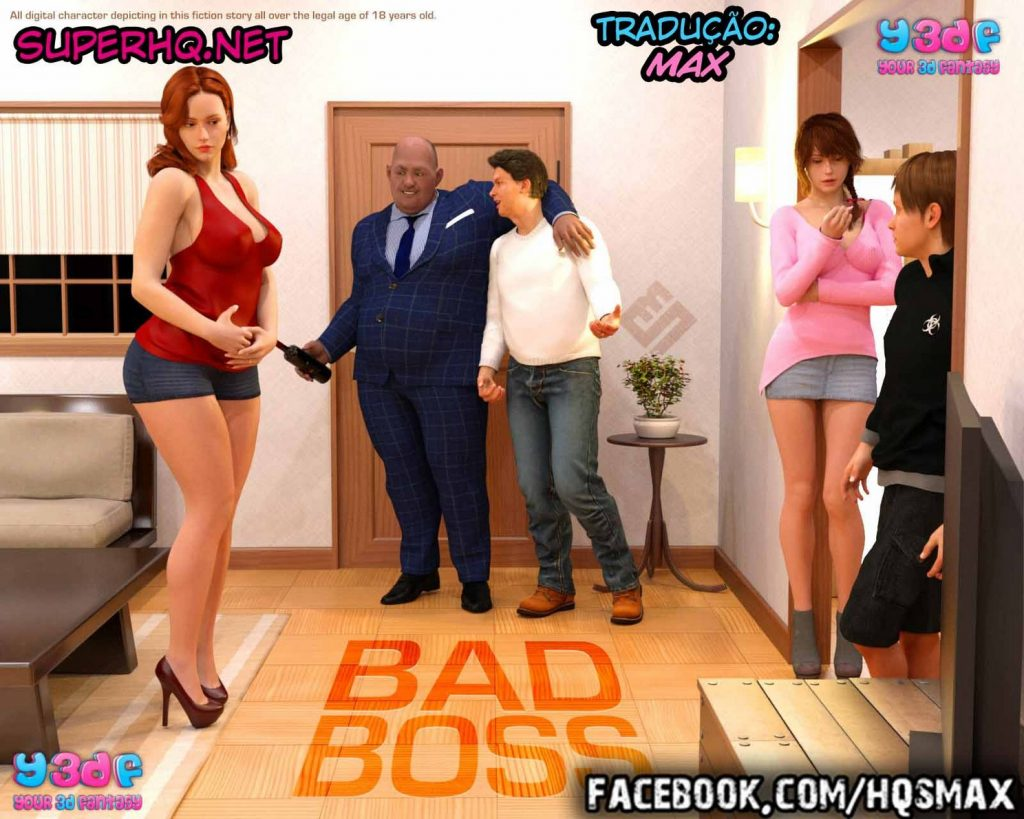 Bad Boss 01 [Completo]- Y3DF Comics