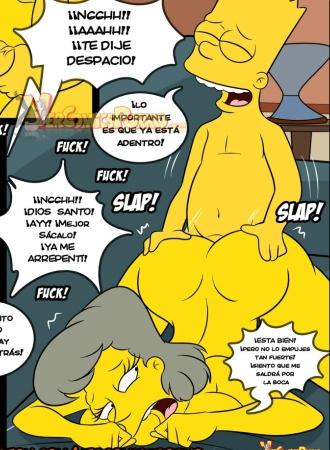 Los Simpsons Viejas Costumbres 8 – Espanhol Comics