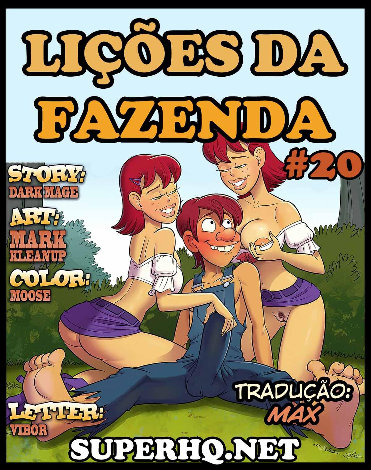 Lições da Fazenda 20 – Quadrinhos Eróticos