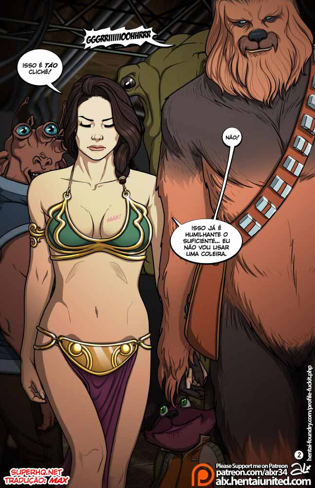 Star Wars – A Complete Guide to Wookie Sex II