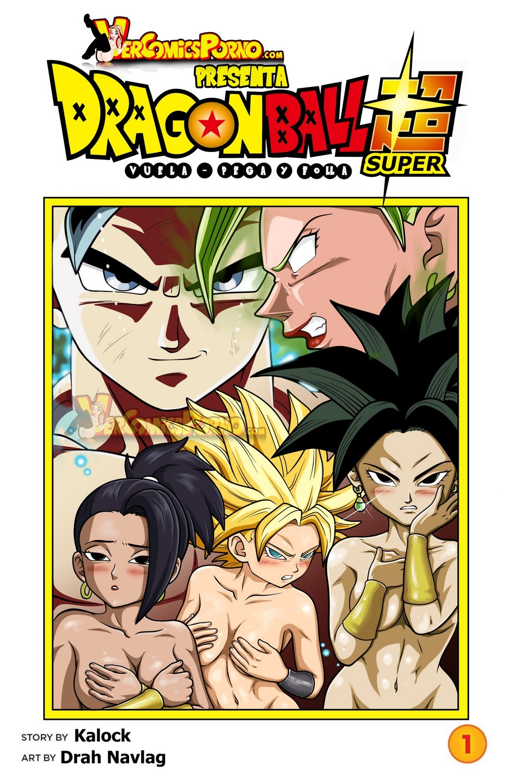 Pega, Vuela y Folla (Dragon Ball Super)- Espanhol Comics