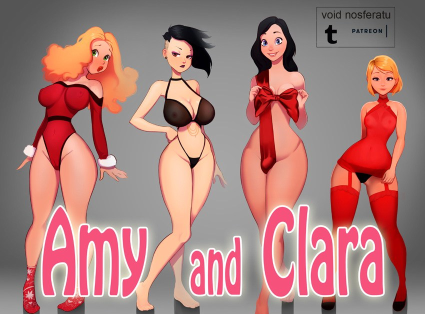Amy and Clara by Void Nosferatu